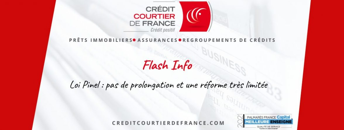 Flash infos Loi Pinel